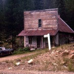 Ghost Town of Bourne, Oregon – 1955