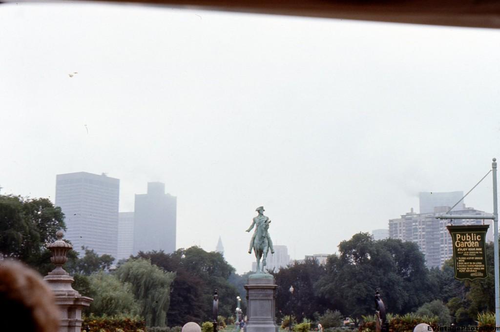 Statue of George Washington at Boston Common