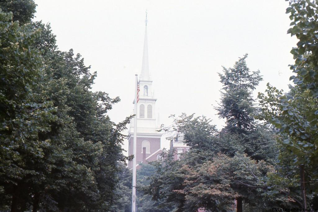 Tower of Old North Church