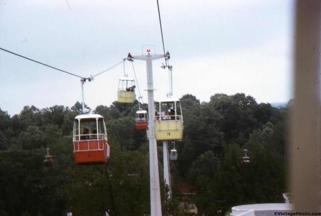 Skyway Tram at Disneyland