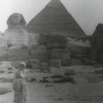 Tourism at Giza – 1955