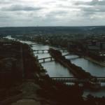 The Seine River in Paris – 1969