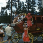 Vintage Stage Coach picture – 1961