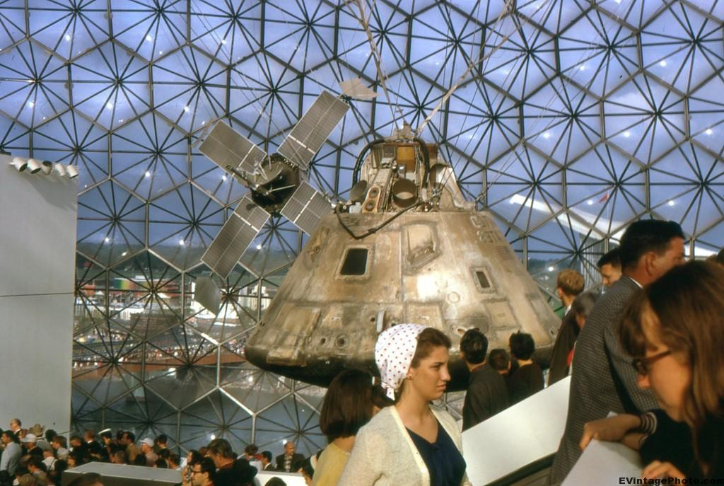 Vintage photos of Expo 67