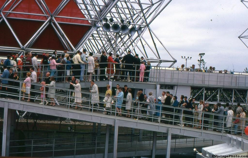 Vintage photos of Expo 67