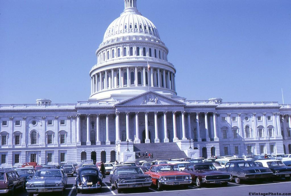 United States Capitol Building - 1969