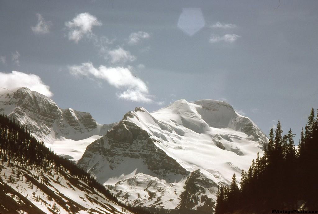 Unknown Snowy Mountain